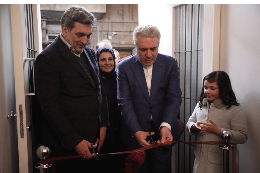 The inauguration of Hanna boutique hotel