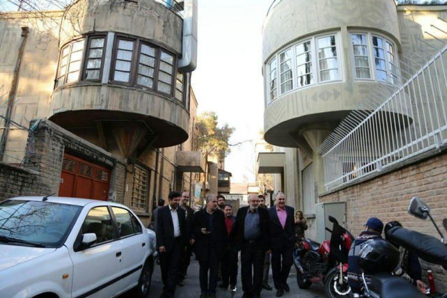بازدید آقای مسجد جامعی